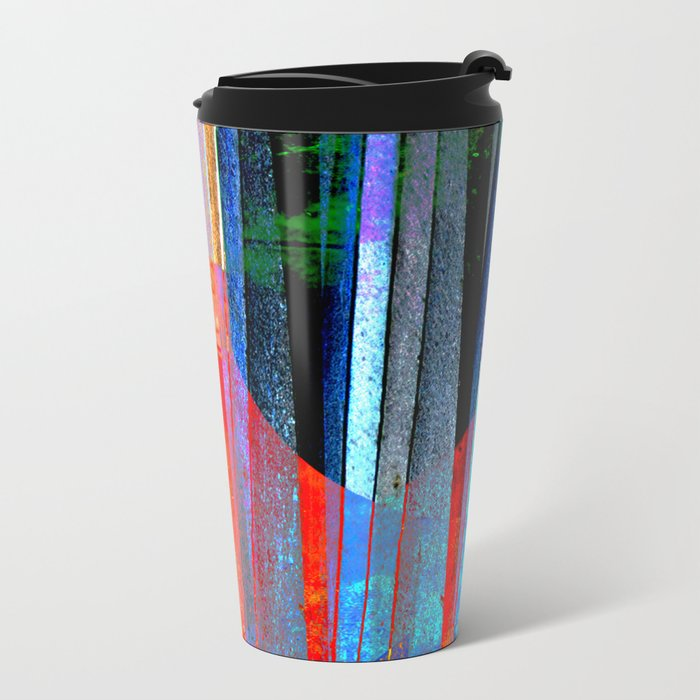 Iron Curtain Metal Travel Mug