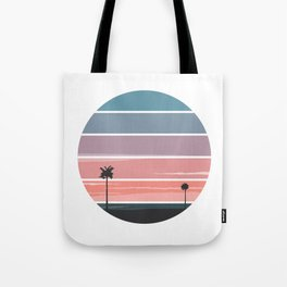 Palm Sunset Tote Bag