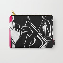 Black and White Geode Carry-All Pouch