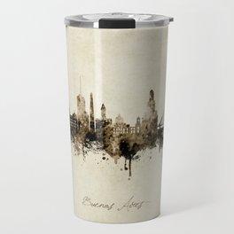 Buenos Aires Argentina Skyline Travel Mug