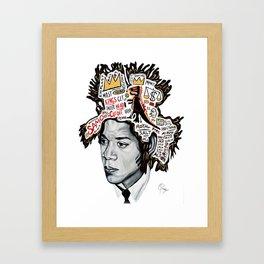 Legends Inspire Framed Art Print