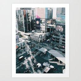 The Square Art Print