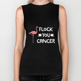 Flock You Cancer Breast Cancer Awareness Gift Tshirt Biker Tank