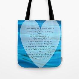 Upon Love's Ocean Tote Bag
