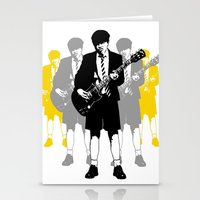 acdc Stationery Cards featuring Taking The Lead by Alan Hogan