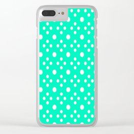 Love Me Some Polkadot Clear iPhone Case