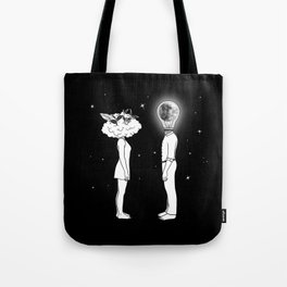 Day Dreamer Meets Night Thinker Tote Bag