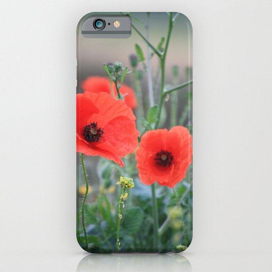 Poppies iPhone & iPod Case