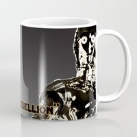 c3po Mugs featuring C3PO by KL Design Solutions