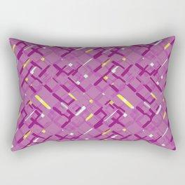 Urban purple Rectangular Pillow