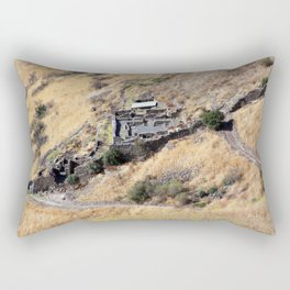Remains of Gamla Rectangular Pillow