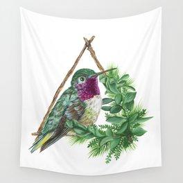 Hummingbird Wall Tapestry