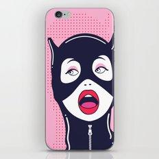 Cat Woman iPhone & iPod Skin