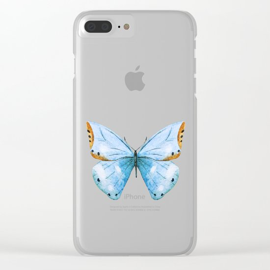 Butterfly 04 Clear iPhone Case