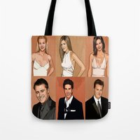 cartoons Tote Bags featuring Cartoons by Emil Engström