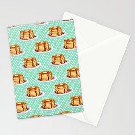 Pancakes & Dots Pattern Stationery Cards