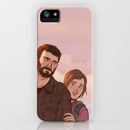 Joel and Ellie iPhone Case