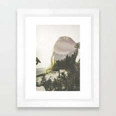 Within Nature Framed Art Print