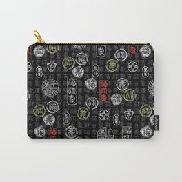 chinese characters pattern Carry-All Pouch