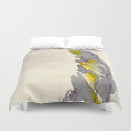 Yellow to Grey Duvet Cover