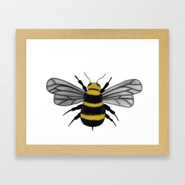 The Bee Framed Art Print