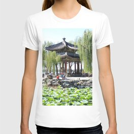 Ancient Imperial Garden of the Qing Dynasty | Ancien Jardin Impérial de la dynasty de Qings T-shirt