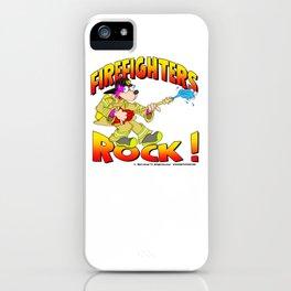 Firefighters Rock Merchandise iPhone Case