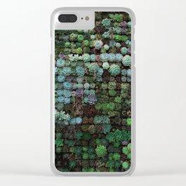 Succulents 1 Clear iPhone Case