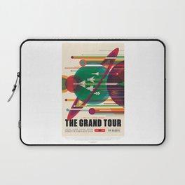 Grand Tour - NASA Space Travel Poster Laptop Sleeve