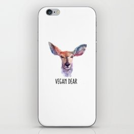 Vegan Dear iPhone Skin