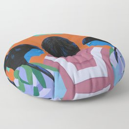 A Mission Floor Pillow