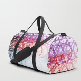 Bicycles palette Duffle Bag