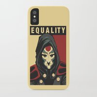 equality iPhone & iPod Cases featuring Equality by leibergart