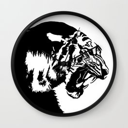 The great tiger Wall Clock