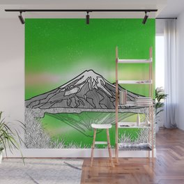 Mount Taranaki New Zealand Wall Mural