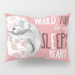 Sleepy bear (dreamer) (c) 2017 Pillow Sham