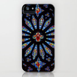 Colorful Church Stained Glass iPhone Case