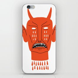 Devil's Head iPhone Skin