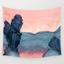 Stratum Sunrise Wall Tapestry