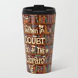 Go to the library Travel Mug