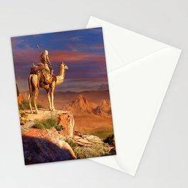 Camel Rider Stationery Cards