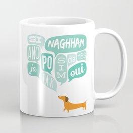 Agreeable Dachshund Coffee Mug