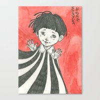 child Canvas Prints featuring child by Ania