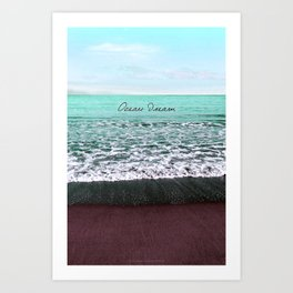 OCEAN DREAM VI Art Print