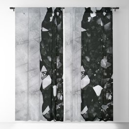 Winters Edge - Aerial Photography Blackout Curtain