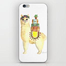 All packed Alpaca iPhone Skin