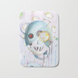 Androids Dream of Electric Sheep Bath Mat