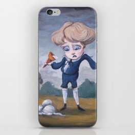 Boring Blue Boy iPhone Skin