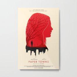 Memories - Paper Towns  Metal Print