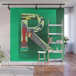 R Handyman Wall Mural